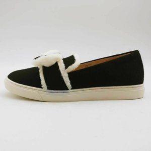 G.I.L.I Maritza Slip On Shoes Black White 9 New
